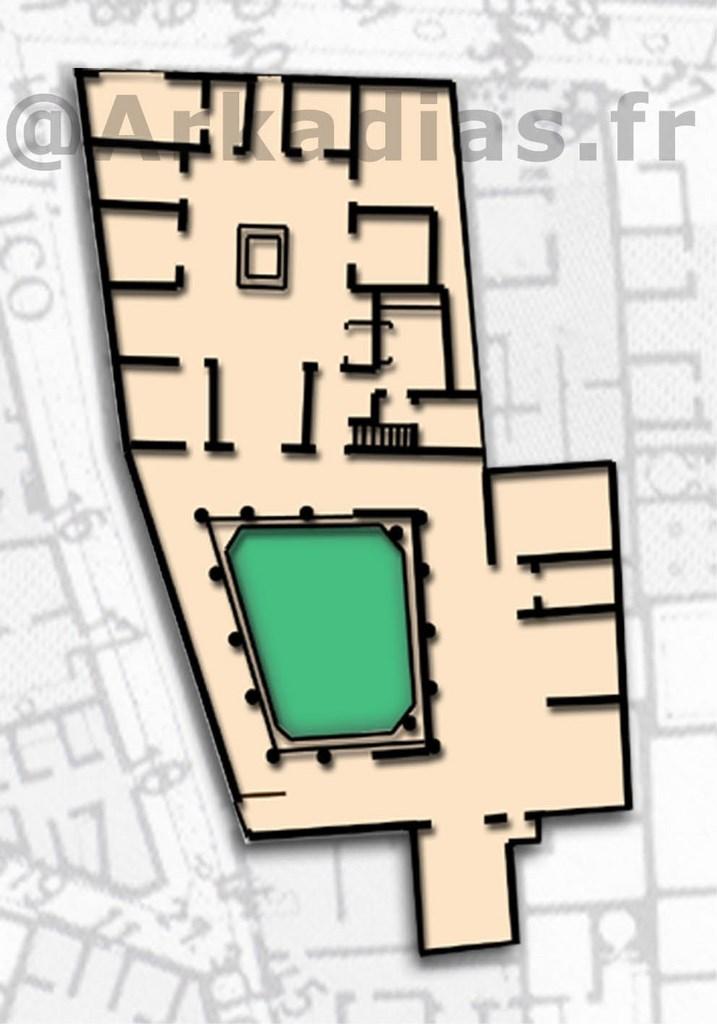 Regio 7 pompei for Casa di 750 m