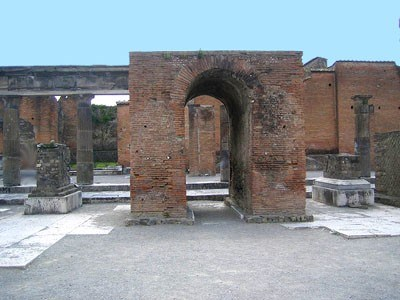 The Largest Arch, Which Serves As The Entrance To The Forum On The Other  Side Of The Temple Of Jupiter, Has An Opening Of 4 Meters 15 Centimeters  And A ...